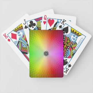 Rainbow Wheel Bicycle Card Decks