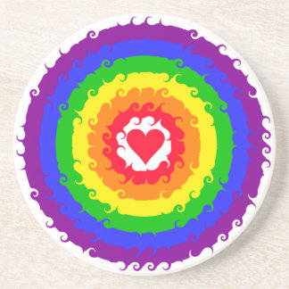Rainbow Wheel coaster