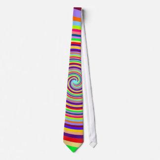 Rainbow Whirlpool Tie