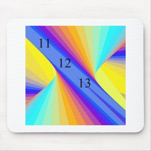 Rainbow Whirlwind Mousepad