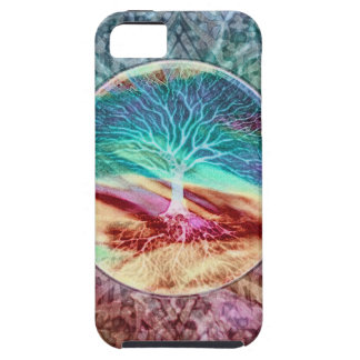 Rainbow Whirlwind of Colors iPhone SE/5/5s Case