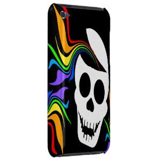 Rainbow White Skull iPod Touch Case