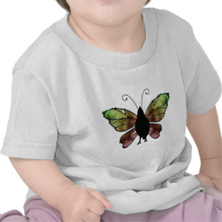 Rainbow Wing Butterfly Raven Tshirts