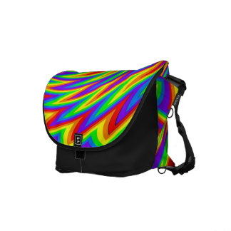 Rainbow Wings Messenger Bag
