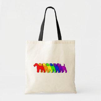 Rainbow Wire Fox Bags