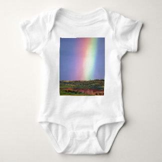 Rainbow wish come true baby bodysuit
