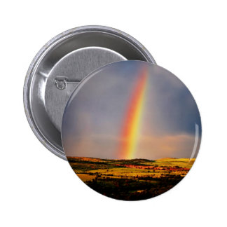 Rainbow wish come true pinback buttons