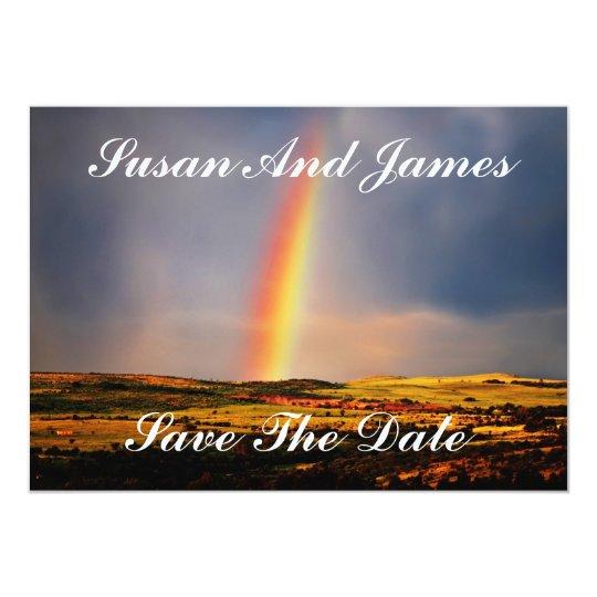 Rainbow wish come true card