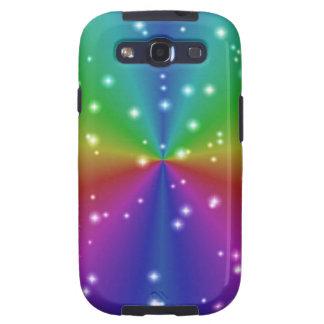 Rainbow with asterisks samsung galaxy s3 cases