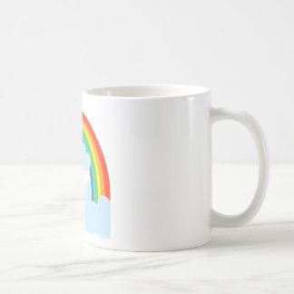 RAINBOW. WITH CLOUDSpng Mugs