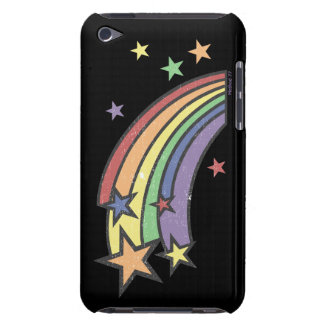 Rainbow with Stars iPod Case