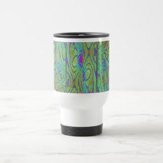 Rainbow Wood Flooring Travel Mug