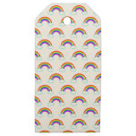 Rainbow Wooden Gift Tags