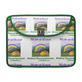 Rainbow Work at Home MT Sleeve For MacBook Pro