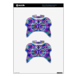 Rainbow Xbox 360 Controller Skin