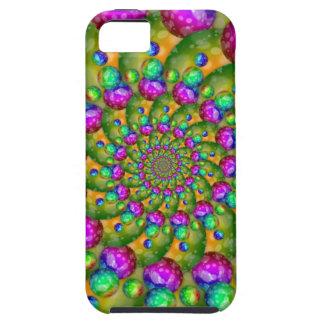 Rainbow Yellow Bokeh Fractal Art iPhone 5 Cover