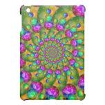 Rainbow Yellow Bokeh Fractal Art iPad Mini Cover
