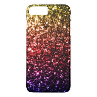 Rainbow yellow red purple sparkles iPhone 7 Plus iPhone 8 Plus/7 Plus Case