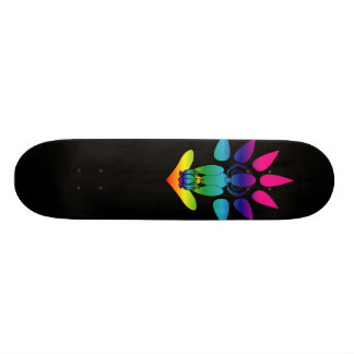 Rainbow Yogini Seated Skateboard