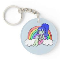 Rainbow Zara Keychain