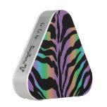 Rainbow Zebra Animal Print Bluetooth Speaker