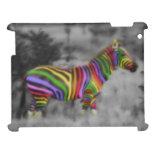 Rainbow Zebra Cover For The iPad 2 3 4