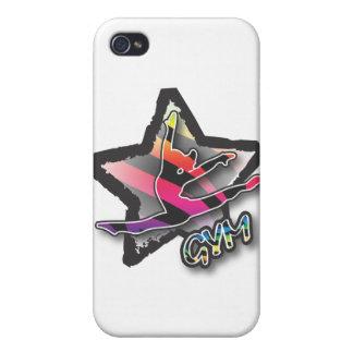 Rainbow Zebra Gymnastics iPhone 4 Case