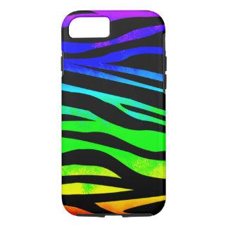 Rainbow Zebra iPhone 7 Case