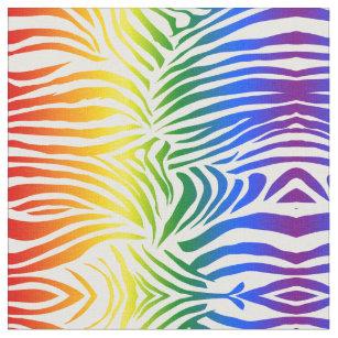 Rainbow Zebra Print Craft Supplies Zazzle