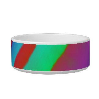 Rainbow Zebra Print Bowl