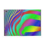 Rainbow Zebra Print Cover For iPad Mini