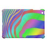Rainbow Zebra Print iPad Mini Cases