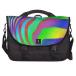 Rainbow Zebra Print Laptop Bags