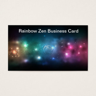 Rainbow Zen Business Card