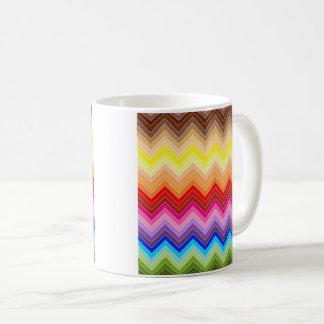Rainbow Zig Zag Coffee Mug