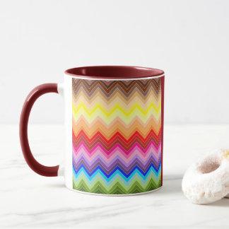 Rainbow Zig Zag Mug