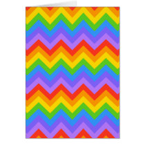 Rainbow Zig Zag Pattern.