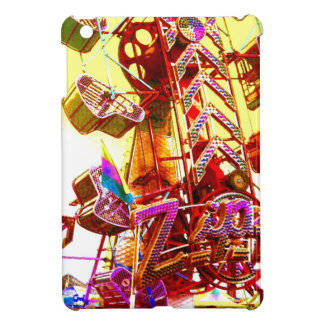 Rainbow ZIP Carnival Ride Abstract Photo Ipad Case