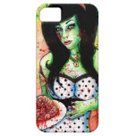 Rainbow Zombie Pin Up Girl iPhone 5 Cases