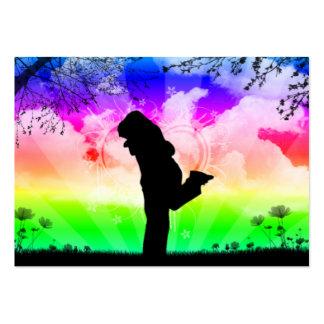 rainbowcouple large business card