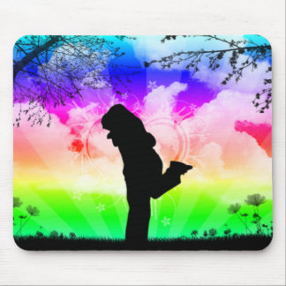 rainbowcouple mouse pad
