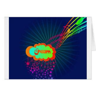 rainbowdream greeting card