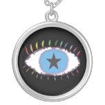 rainboweyestar custom necklace
