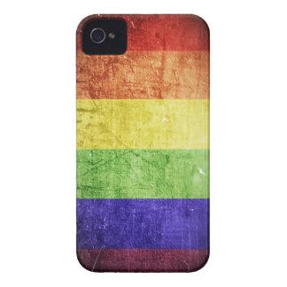 RainbowFlag-iphone4 iPhone 4 Funda