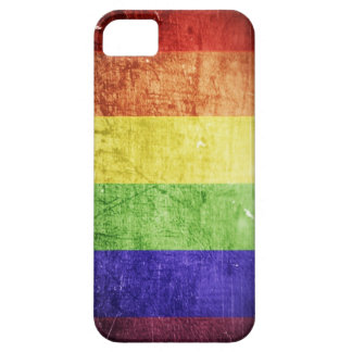 RainbowFlag-iphone4 iPhone SE/5/5s Case