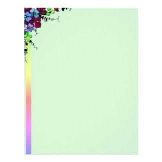 RainbowFlowers Letterhead