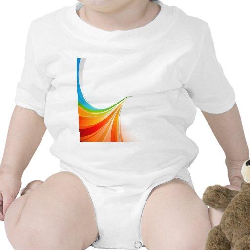rainbowleft trajes de bebé