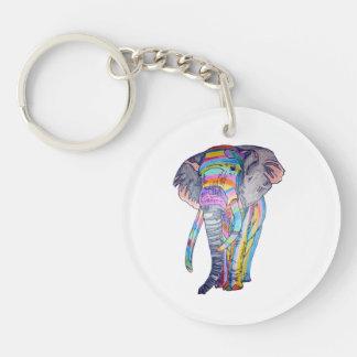 Rainbowphant Keychain