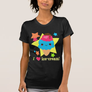 Rainbowriffic Stars: I <3 Ice Cream T Shirt