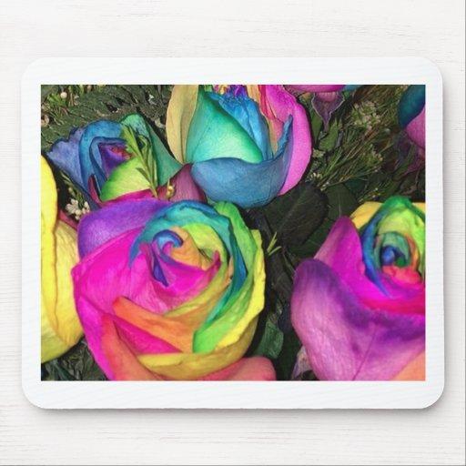 rainbowroses.jpg alfombrilla de ratón